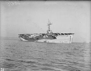 HMS Campania (D48) - Image: HMS Campania