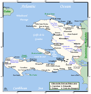 Geography of Haiti - Image: Haiti OMC