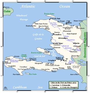 Geography of Haiti
