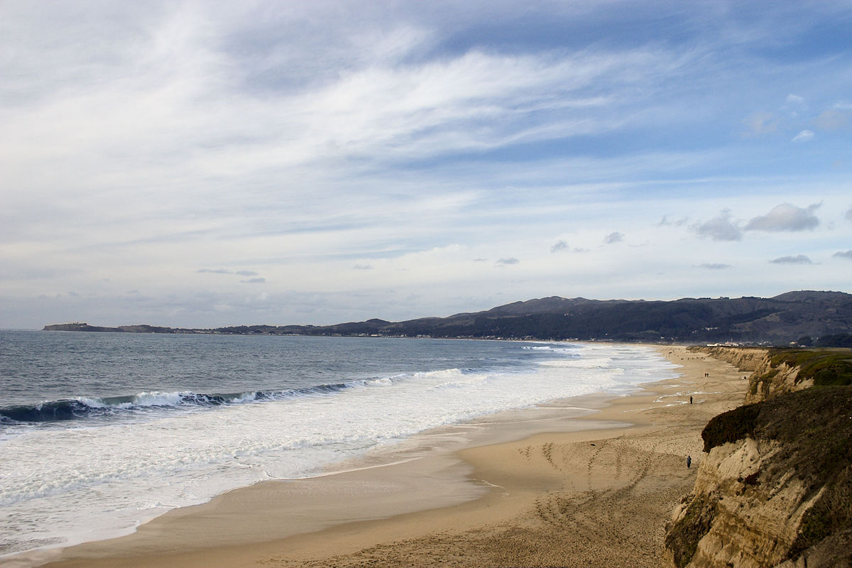 Best Beaches South Of Half Moon Bay