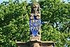 halsteren - dorpsstraat 22 - raadhuis - schildhoudende leeuw