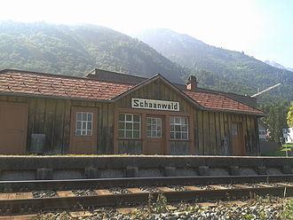 Schaanwald - Schaanwald railway station