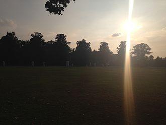 Ham and Petersham Cricket Club - Ham Common at Sunset.