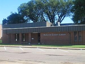Hamilton County, Kansas - Image: Hamilton County, KS, Library IMG 5835