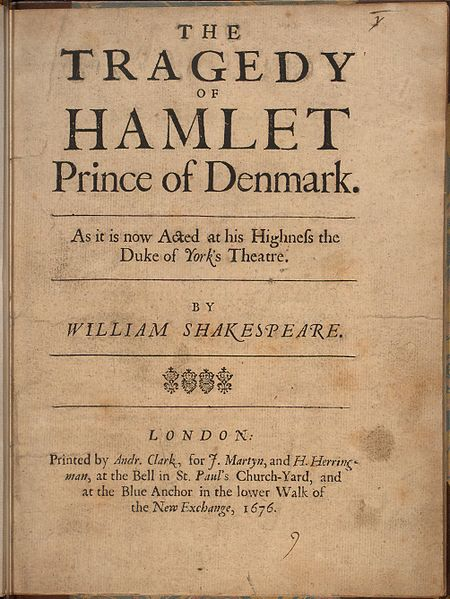 File:Hamlet, Shakespeare, 1676 - 0001.jpg