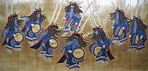Deer dance (folk dance) - Deer dance of Hanamaki, Iwate