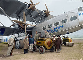 "Handley Page H.P.42 ""Hanno"" van Imperial Airways"