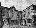 Handwerksbetrieb von Joseph Losenhausen (1851–1919), Maschinenfabrikant, an der Talstraße in Düsseldorf um 1850.jpg