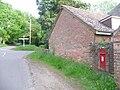 Hangersley, postbox No. BH24 27, Cowpitts Lane - geograph.org.uk - 1310033.jpg