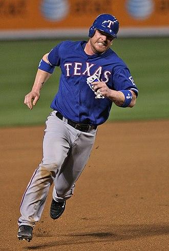 Hank Blalock - Blalock with the Texas Rangers