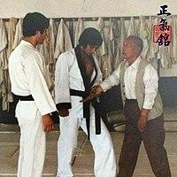 Hapkido doju Choi, Yong Sul & GM Lim, Hyun Soo at the JUNGKIKWAN 5.jpg