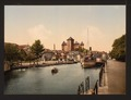 Harbor and chateau fort, Annecy, France-LCCN2001697555.tif