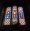 Harlaxton Ss Mary and Peter - interior South Aisle window 01.jpg