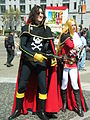 Harlock & Emeraldas cosplayers at 2010 NCCBF 2010-04-18 3.JPG