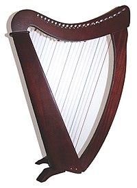 Harpe troubadour