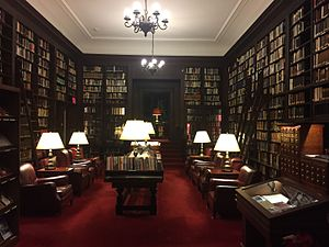 Harvard Club of New York - View of the library