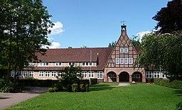 Grundschule (Peter-Lunding-Schule) in Hasloh, erbaut 1950