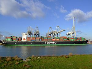 Hatsu Crystal p8, at the Amazone harbour, Port of Rotterdam, Holland 25-Jan-2007.jpg