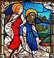Hatzenport, Johanneskirche, Johannes und Maria vor dem Kreuz.jpg