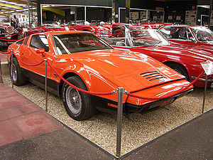 Haynes International Motor Museum - A rare Canadian-built Bricklin held in the collection
