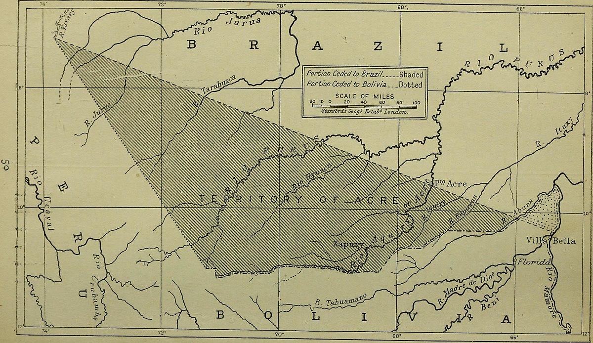 Guerras del Acre y Purús - Wikipedia, la enciclopedia libre