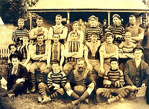 Heidelberg Football Club - Heidelberg Football Club c.1897