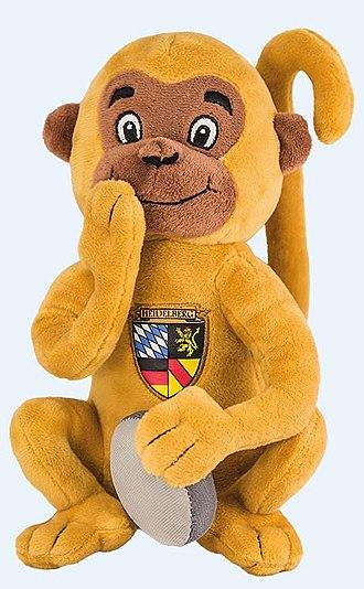 Heidelberg Bridge Monkey - Heidelberg Bridge Monkey plush toy