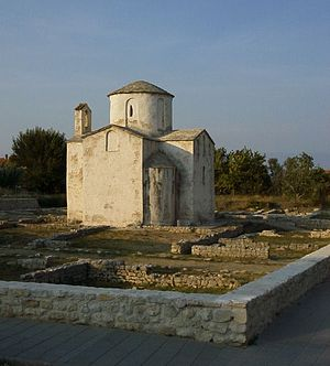 Architecture of Croatia - The Church of Holy Cross in Nin, 9th century