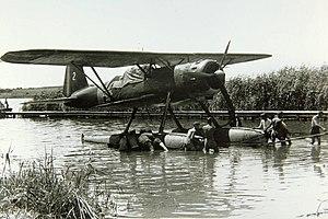 Heinkel He 114 - Heinkel He 114 of Romanian Air Force