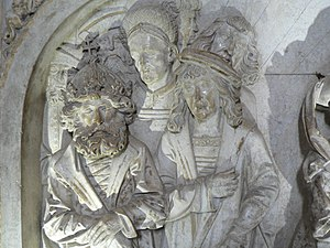 Ottonian dynasty - Detail of Henry II's tomb, Bamberg Cathedral