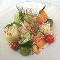 Heirloom Melon - Sweet 100 Tomatoes, Pickled Rind, Cotija (14576832290).jpg