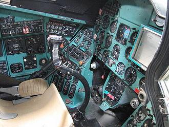 Mil Mi-24 - Mi-24D cockpit
