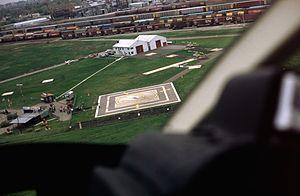 Heliport - A heliport at Niagara Falls, Ontario, Canada