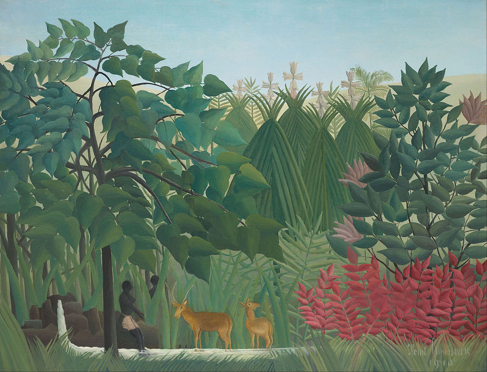 Henri Rousseau - The Waterfall - Google Art Project.jpg
