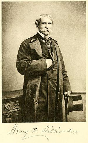 Henry Washington Hilliard - Circa 1892