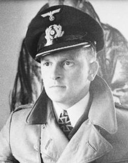 Herbert Schultze German Navy Offier and World War II U-boat commander