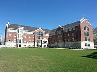 Photograph of Building 30 in Heritage Halls.