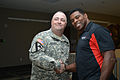 Herschel Walker at Camp Withycombe, 2012 034 (8455395222) (6).jpg
