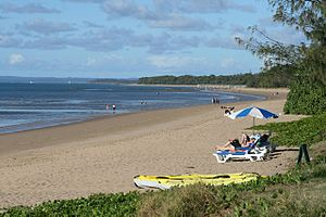 Wide Bay–Burnett - Beach at Hervey Bay, 2007