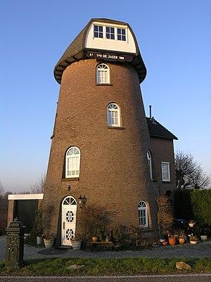 Lingewaal - Former windmill in Herwijnen