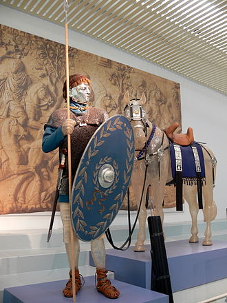 Turma - Reconstruction of a Roman cavalryman of the Principate, Nijmegen