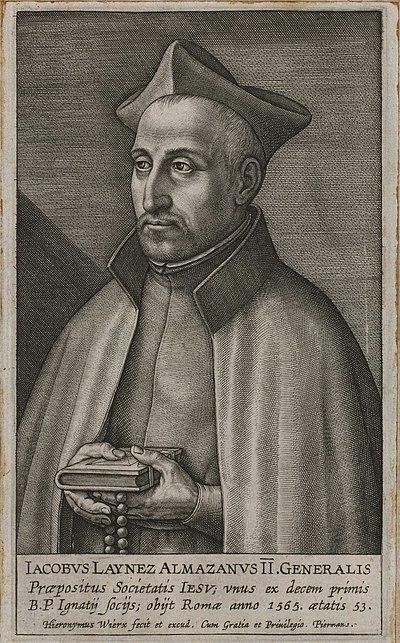Diego Laínez Gómez de León, General de la Compañía de Jesús