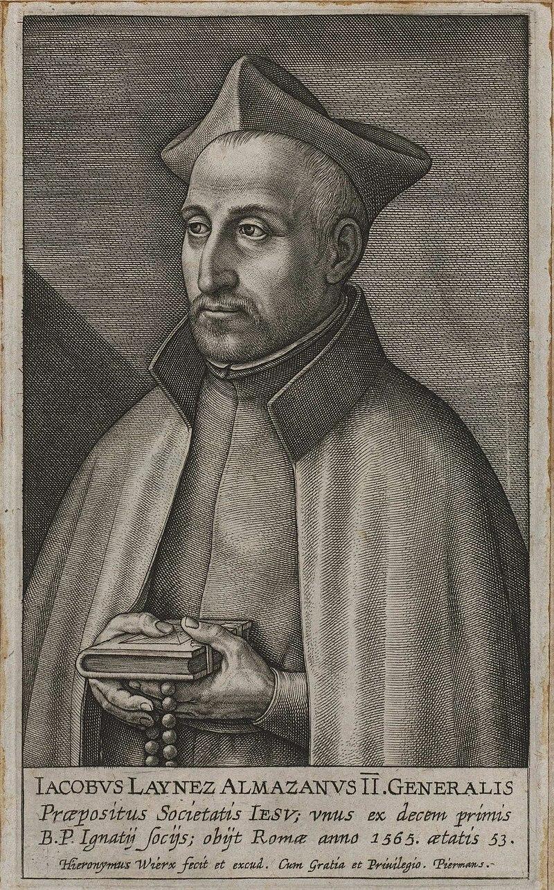 Diego Laínez Gómez de León, General de la Compañía de Jesús.