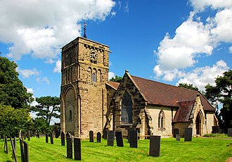 Higham on the Hill - Image: Higham on the Hill Church