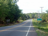 Highway 9 in Morrilton, Arkansas.jpg