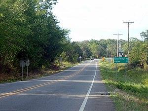 Arkansas Highway 9 - Highway 9 runs north in Morrilton