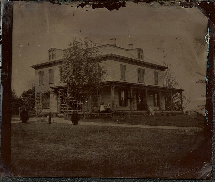 New York 1870's house photo