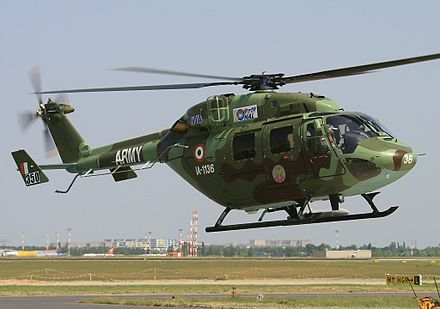 Indian Army's HAL Dhruv helicopter Hindustan ALH Dhruv, India - Army AN1546730.jpg