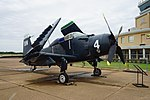 Historic Aviation Memorial Museum August 2018 14 (Douglas AD-5 Skyraider).jpg