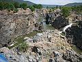 Hogenakkal Falls in dry season.jpg